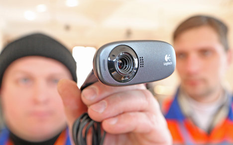 Установка веб-камер
