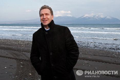 Вице-премьер РФ Игорь Шувалов посетил Курилы