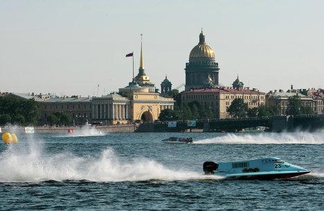 Водно-моторный спорт. Формула 1. Этап Чемпионата мира