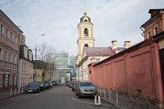 Панорама Рождественской улицы в Москве