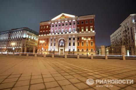 Cамые освещенные места в Москве – мэрия Москвы