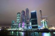 Самые освещенные места в Москве – Москва-сити