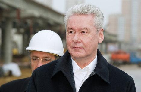 С.Собянин осмотрел ход реконструкции Дмитровского шоссе