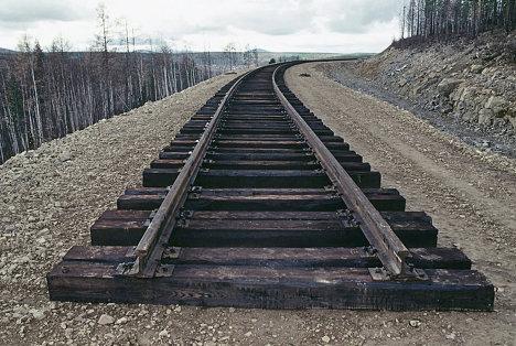 Конец железной дороги на Якутск