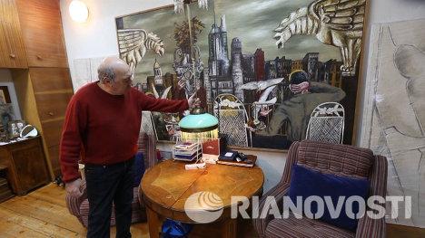 Мастерская Георгия Франгуляна
