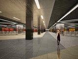 Проект станции метро «Нижегородская улица»