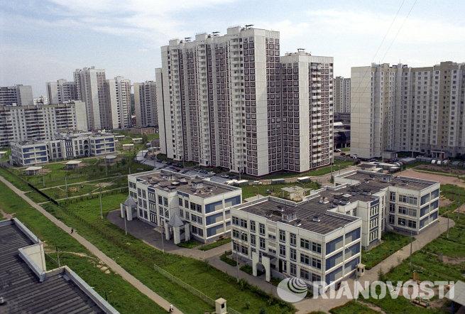 Панорама микрорайона Южное Бутово