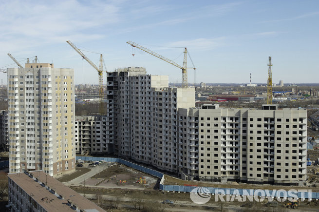 Строительство жилого комплекса по программе Доступное жилье