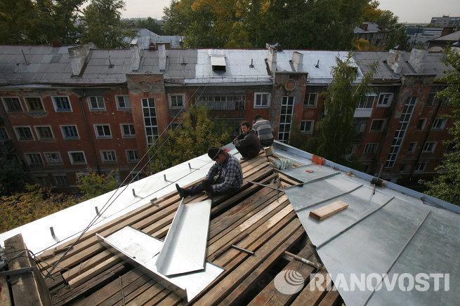 Капитальный ремонт домов в Новосибирске