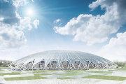 Макет стадиона в Самаре к ЧМ-2018