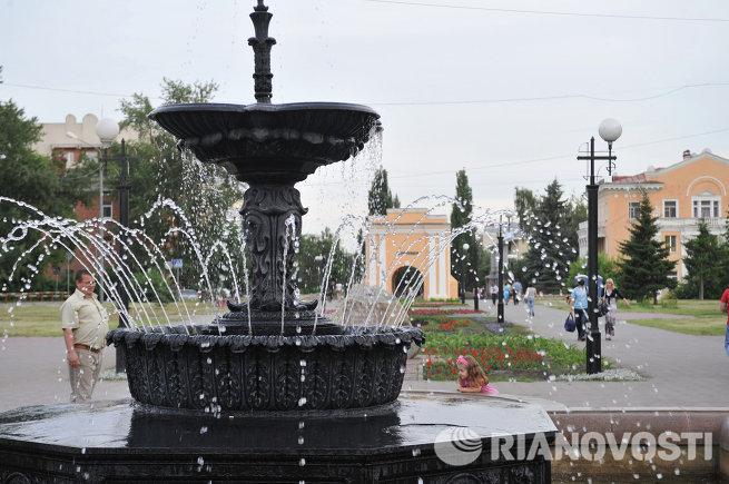 Виды города Омска
