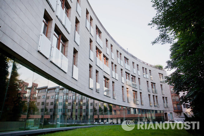 Дом в Молочном переулке, 1 в Москве