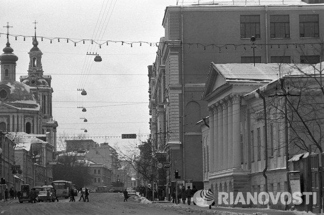Улица Карла Маркса (ныне - Старая Басманная)
