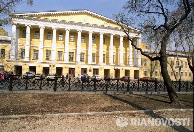 Бывшая усадьба князей Гагариных на Страстном бульваре