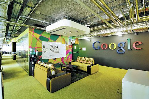 Проект компании Nayada для московского офиса Google