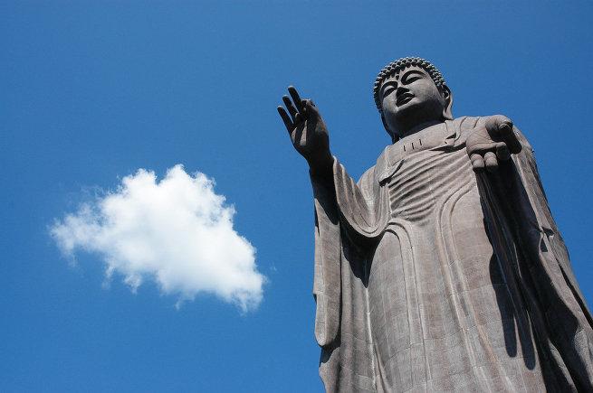 Cтатуя Будды Амитабхи