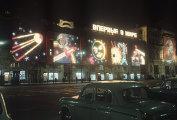 Иллюминация города в дни празднования 50-летия Великой Октябрьской социалистической революции