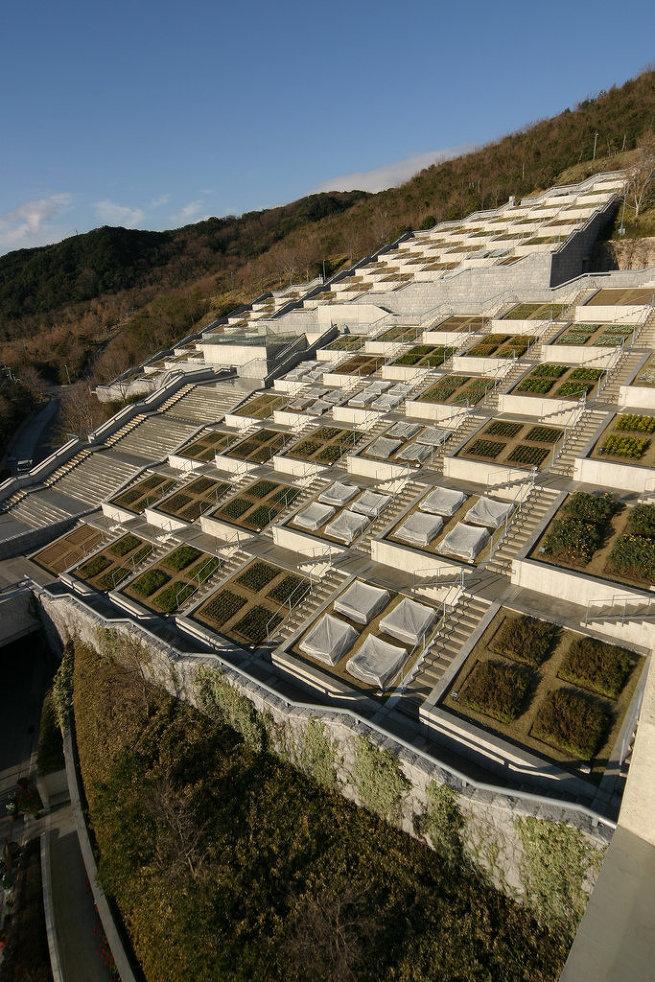 Лестница мечтаний на острове Авадзи в Японии