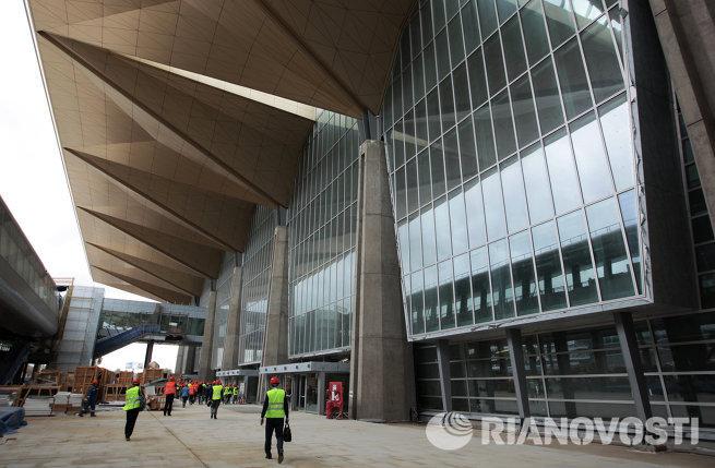 Строительство нового пассажирского терминала Пулково