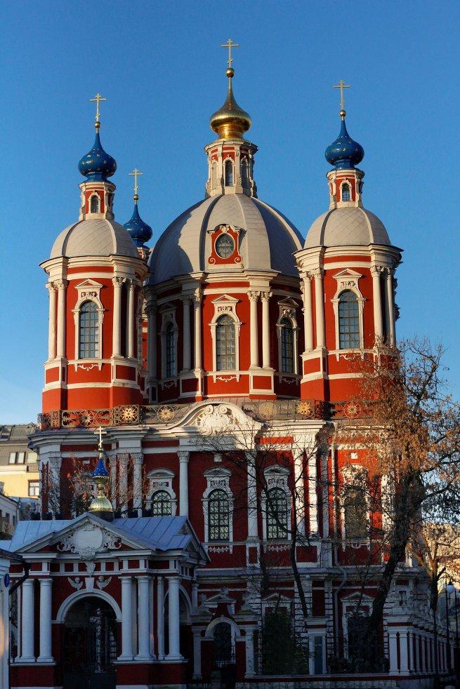 Церковь Климента 1770 года. Колокольня и трапезная, 1762-1774 годы
