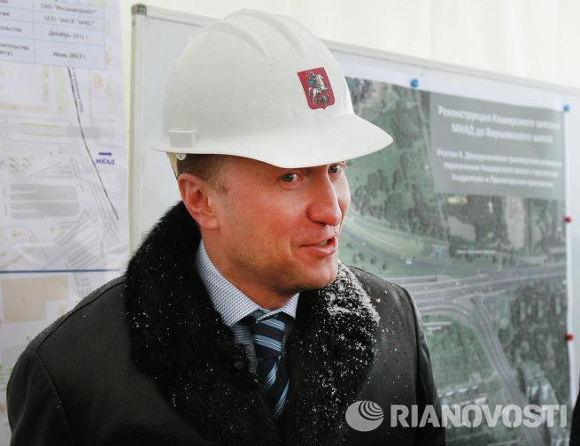 Руководитель Департамента строительства города Москвы А.Бочкарев