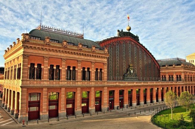 Вокзал Аточа в Испании
