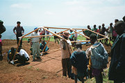 Шигеру Бан в Руанде