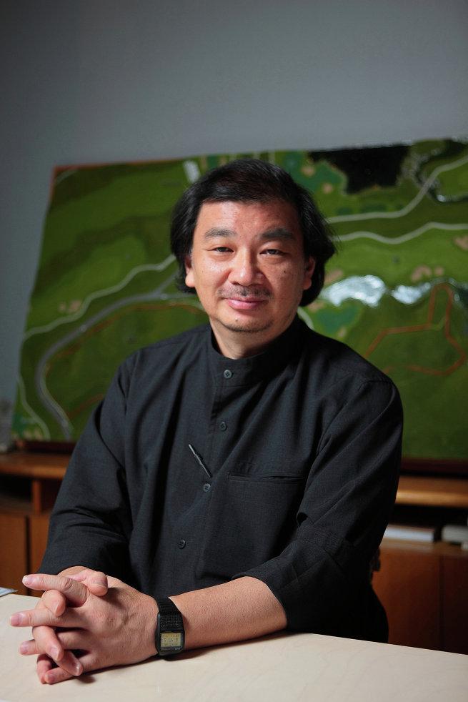 Японский архитектор Шигеру Бан