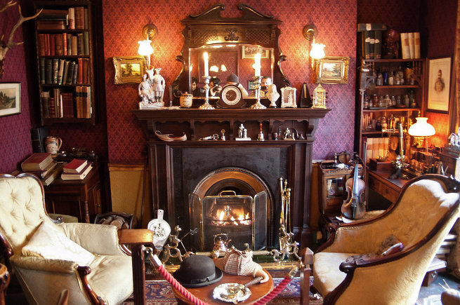Квартира Шерлока Холмса
