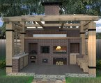 Очаг-кормилец: как организовать комфортабельное место для барбекю на даче