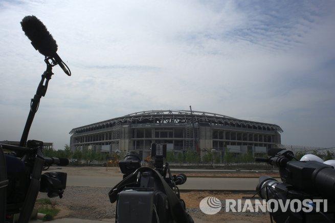 Строительство стадиона Спартак