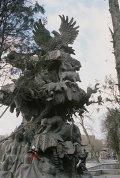 Скульптурная композиция Дерево Сказок