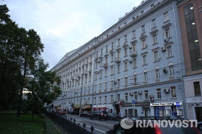 Комплекс жилых зданий для служащих Московской конторы Госбанка