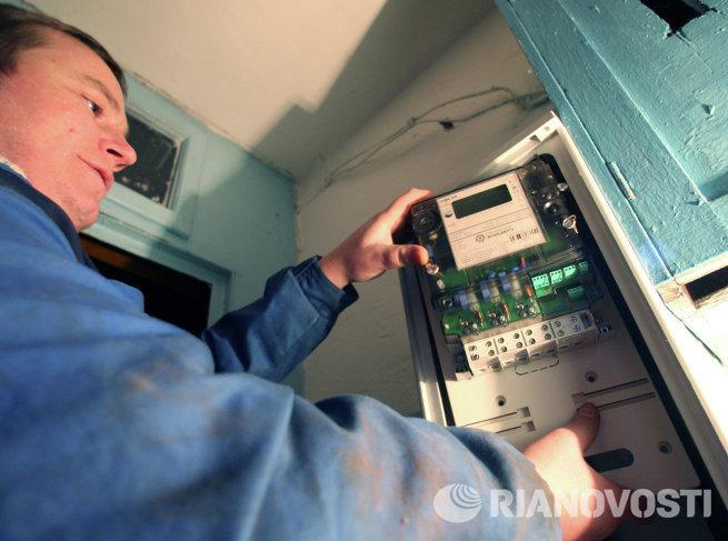 Установка общедомового прибора учета потребления электроэнергии