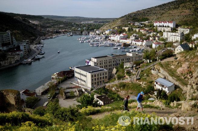 Виды Крыма. Балаклава