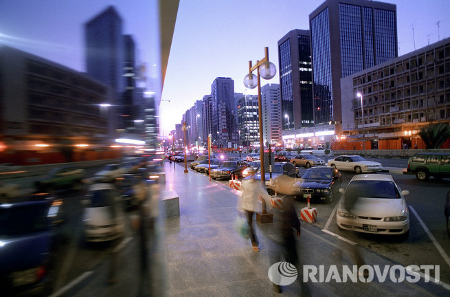 Хамдан - главная торговая улица города Абу-Даби