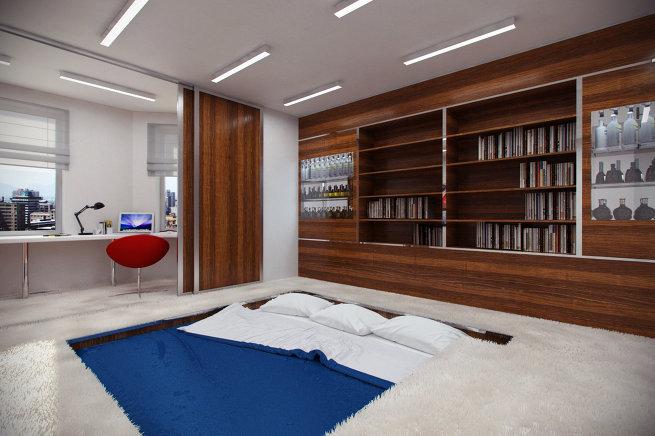 Как интересно оформить квартиру юноше или девушке