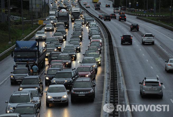 Калужском шоссе