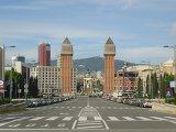 Венецианские башни в Барселоне