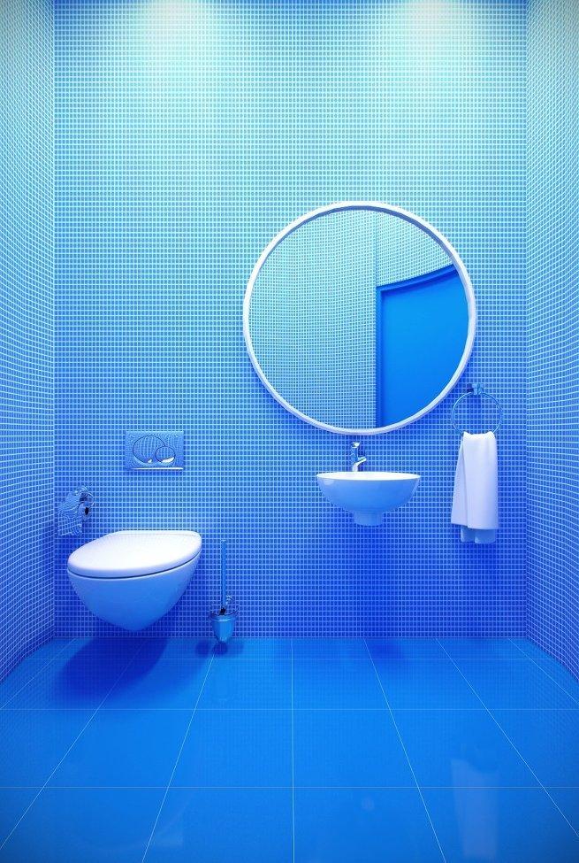 туалетная комната архбюро Победа дизайна