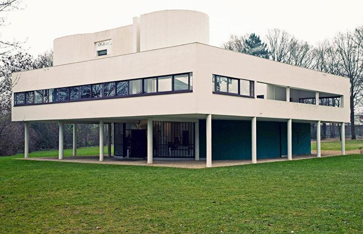 La Villa Savoye Ле Корбюзье