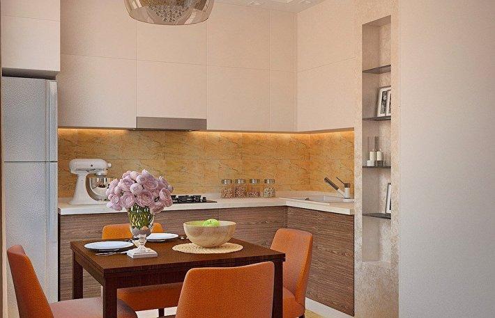 Как использовать пространство небольшой кухни с максимальной пользой