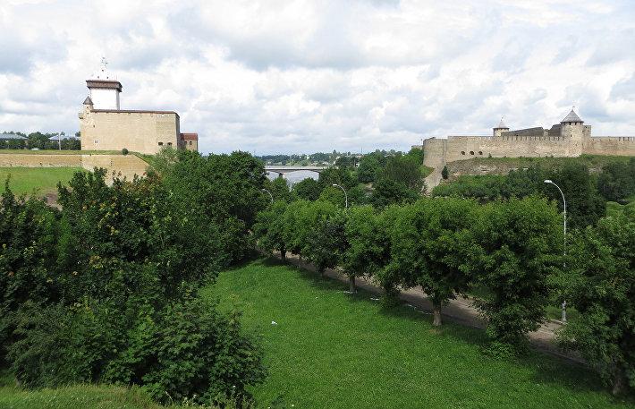 Нарвский замок и Ивангородская крепости