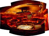 Концертный зал DR внутри