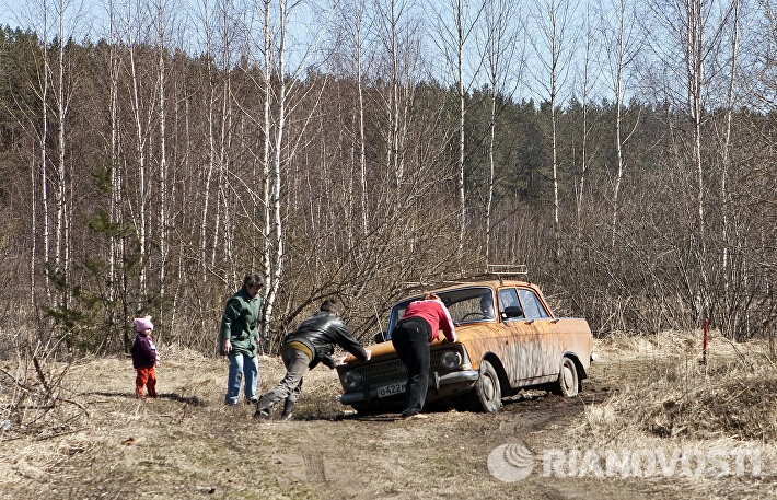Дачники в Нижегородской области
