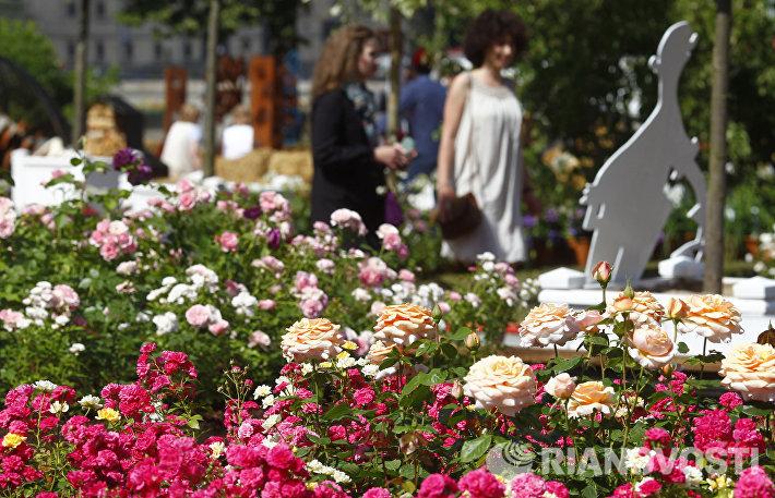 Открытие фестиваля Мoscow Flower Show