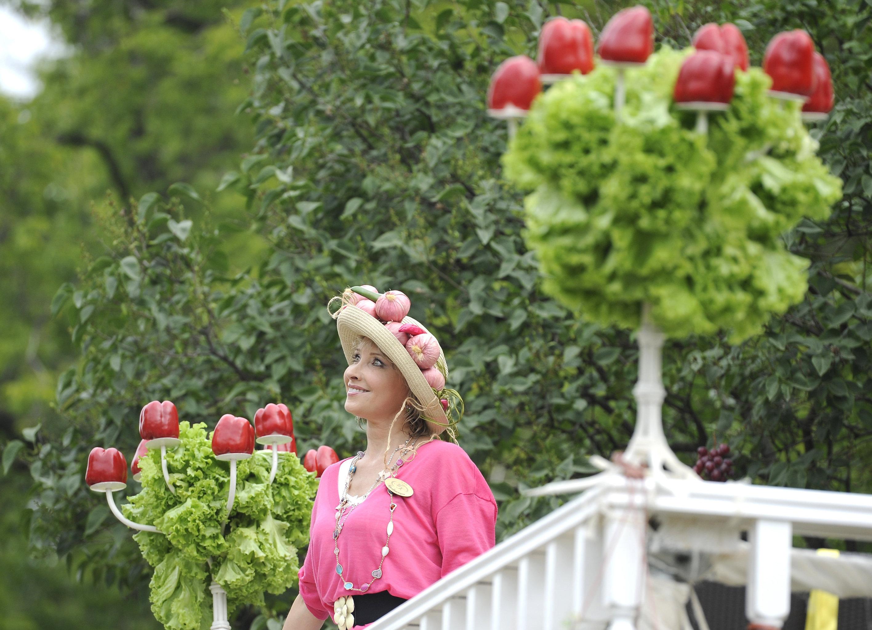 Открытие Московского международного фестиваля садов и цветов