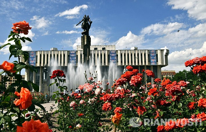 Города мира. Бишкек
