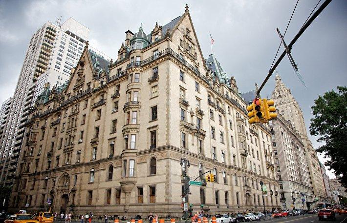 Здание Дакота в Нью-Йорке
