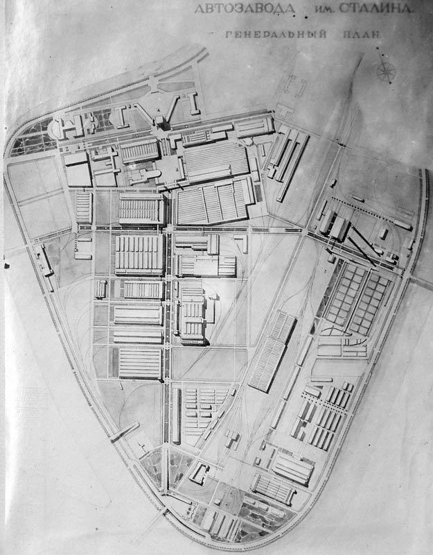 План завода ЗИЛ, 1930 год